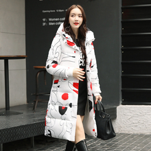 High Quality 2019 New Arrival Winter Jacket Women Hooded Cotton Padded Long Warm thicken Female Coats Parka Parkas Outwear 2018 new arrival winter jacket women fur collar hooded warm thicken female slim long parkas coats women cotton padded outwear