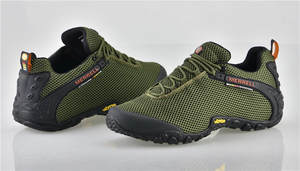 Merrell Hiking Shoes Sneakers Mountaineer Army-Green Outdoor Camping Climbing Men's New