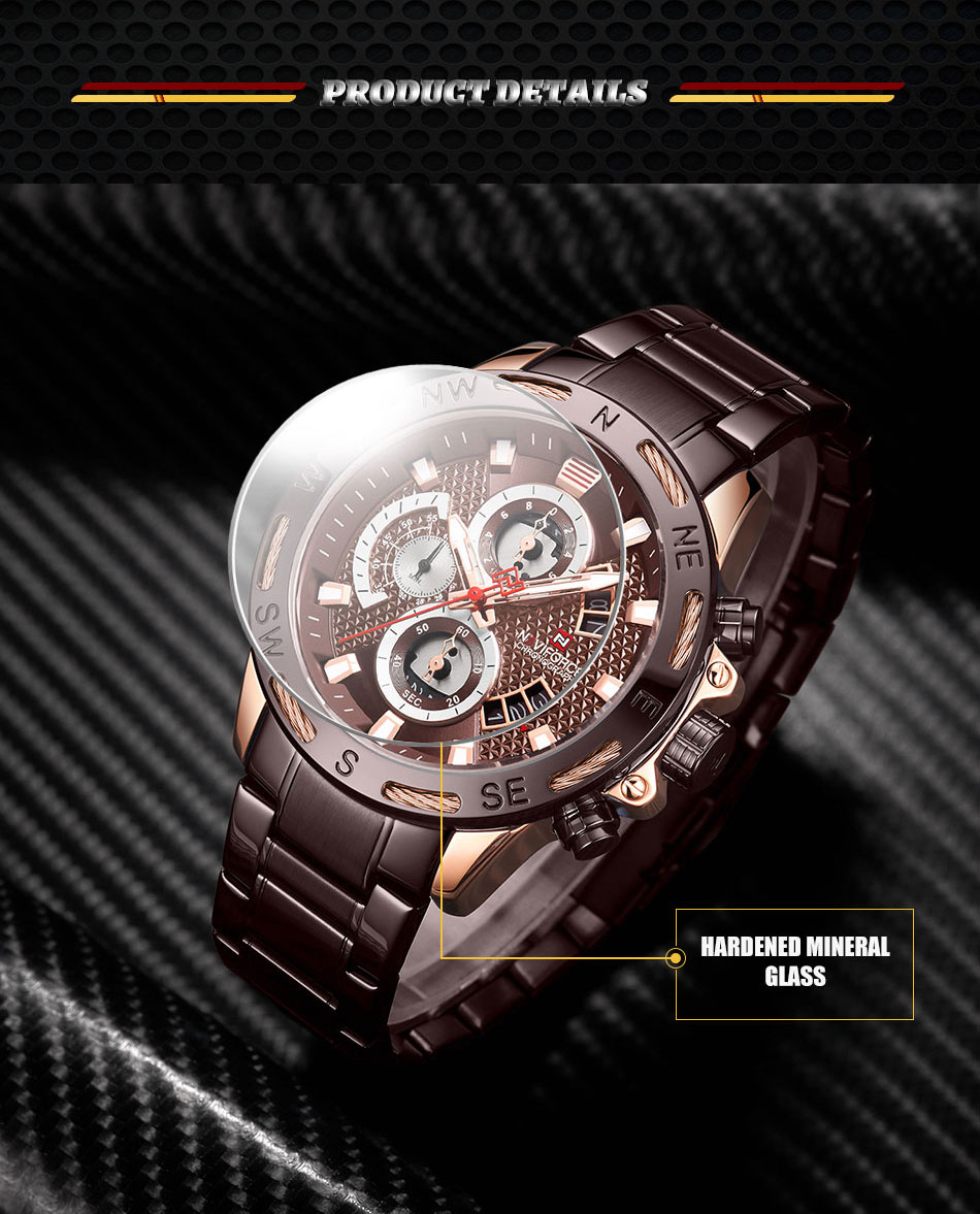 Naviforce Chronograph Watch - MiraShop