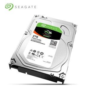 Image 2 - Seagate disque hybride sxd de jeu FireCuda, disque dur de 7200 pouces, disque dur SATA, 2 to, 3.5 RPM, 6 Gb/s, 64 mo de Cache (ST2000DX002)