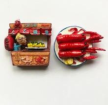 Япония Осака жареный осьминог мяч Туризм сувениры 3d Резина