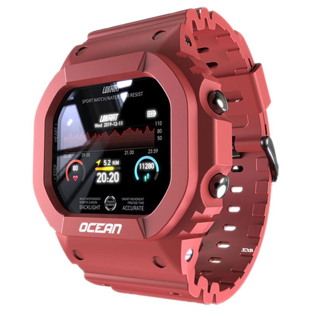 Esporte relógio inteligente oceano banda rastreador smartbracelet