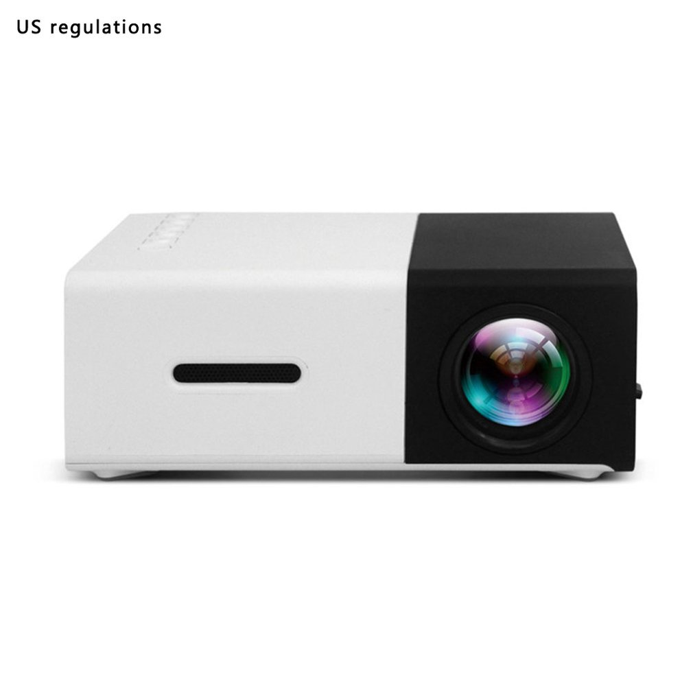 YG300 Projector Mini LCD LED Proyector 400-600 lumens 320x240 Pixel Best Video Beamer for kids