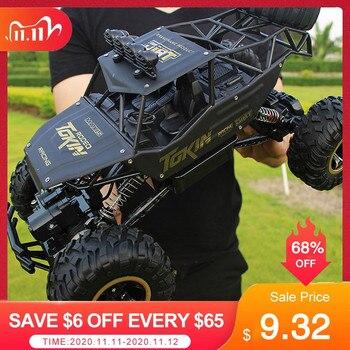 1:12 4WD RC coche versión actualizada 2,4G Radio Control RC coche juguetes Buggy 2020 camiones de alta velocidad todoterreno juguetes para niños