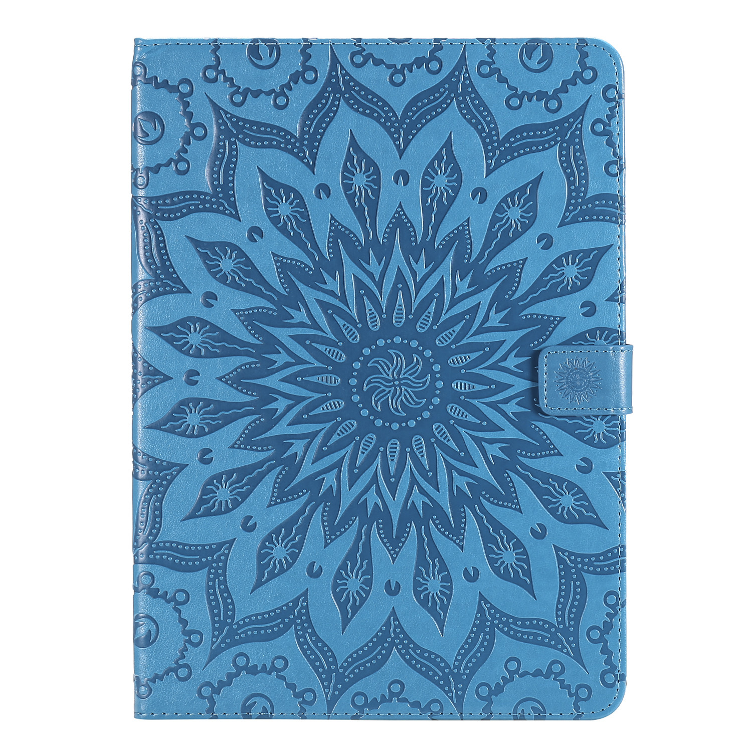 6 Purple Flower 3D Embossed Cover for iPad Pro 12 9 Case 2020 Leather Protective Shell Skin for