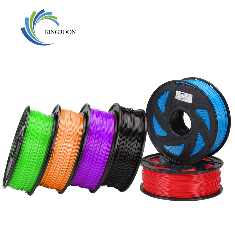KingRoon PLA <font><b>ABS</b></font> TPU Filament <font><b>1.75</b></font> mm 1KG 2.2lbs <font><b>3D</b></font> Plastic Consumables Material for <font><b>3D</b></font> Printer <font><b>3D</b></font> Pen Accuracy +/-0.02mm Spool image