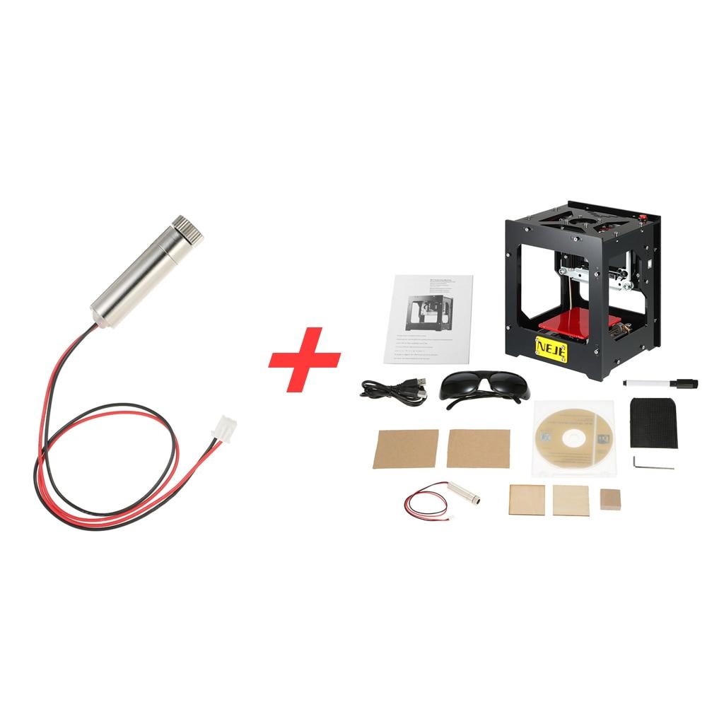 1500mW High Speed Cnc Laser Cutter USB Laser Engraver DIY Print Engraving Machine Off-line Operation + 1500mW 405nm Laser Head
