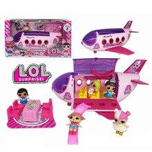 Lol sorpresa muñecas Original LoL muñecas sorpresa avión juguetes acción modelo colección DIY cumpleaños Regalos para niña