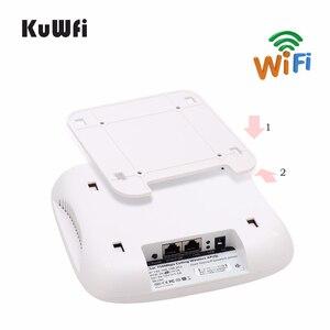 Image 3 - KuWFi Trần Điểm Truy Cập Không Dây, không Dây Kép Wi Fi AP Router Với POE 48V Tầm Xa Treo Tường Trần Router
