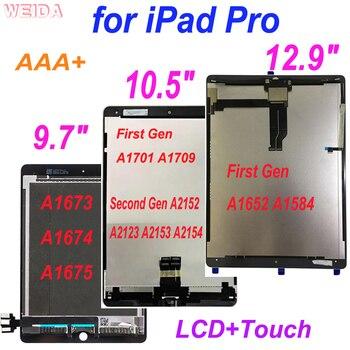 Сенсорный ЖК-дисплей в сборе AAA + LCD для iPad Pro 9,7 Pro 10,5 Pro 12,9 A1673 A1674 /A1701 A1709/ A2152 A2123/A1652 A1584