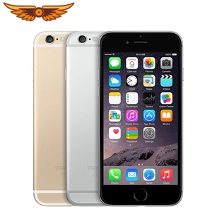 DHL Free Shipping Original Apple iPhone 6 Dual Core 4.7Inches 1GB RAM 16/64/128GB ROM 8MP WCDMA LTE IOS Unlocked Used Smartphone