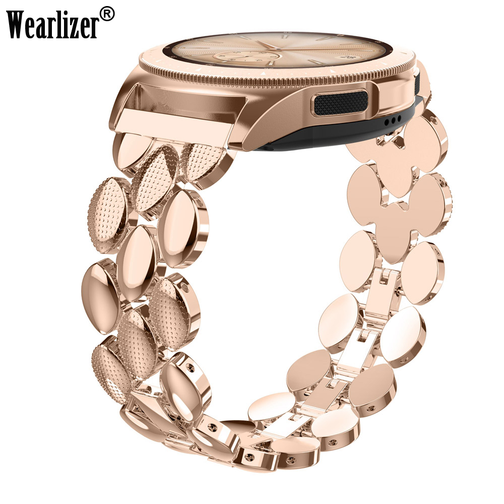 Stainless Steel Strap For Samsung Galaxy Watch Bracelet Classic Band 20mm Width Metal Strap For Samsung Galaxy 42mm Watch Band