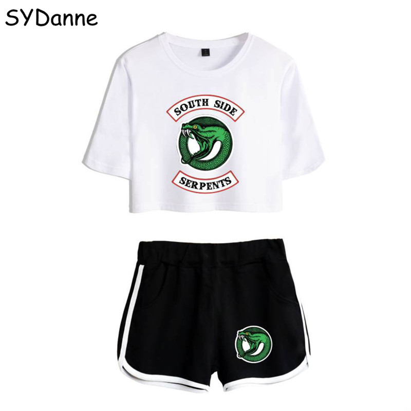 Riverdale Southside Tshirt Riverdale Shorts Sport Shorts South Side Serpents Riverdale Gifts Shorts Women Girls Running T-shirt