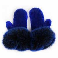 Норковые меховые перчатки женские норковые меховые вязаные перчатки женские меховые перчатки