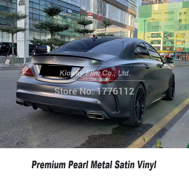 Newest high end Vehicle film deep grey car wrapping rolls car foil wrapping Vehicle wrapping paper for high end car