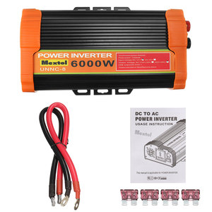 Image 5 - Inversor de 12V, 220V, 12000W máximo, 6000W, transformador de voltaje de onda sinusoidal modificada automática, convertidor inversor de energía Solar, carga USB para coche