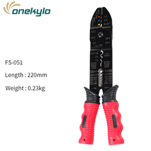 Free Shipping Multitool Crimping Pliers Electrical Terminals Combination Multi Tool Wire Stripper Cut Alicates Electricos Tool цена и фото