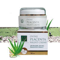 NewZealand Nature Beauty Ovine Placenta Light Non greasy Night Cream 50g Nourishing Anti-wrinkle Smoother Firmer Skin Elasticity