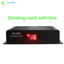 New design LINSN sending card box with TS802 sender box LCB300 for rental stage led display screen billboard manufacturer