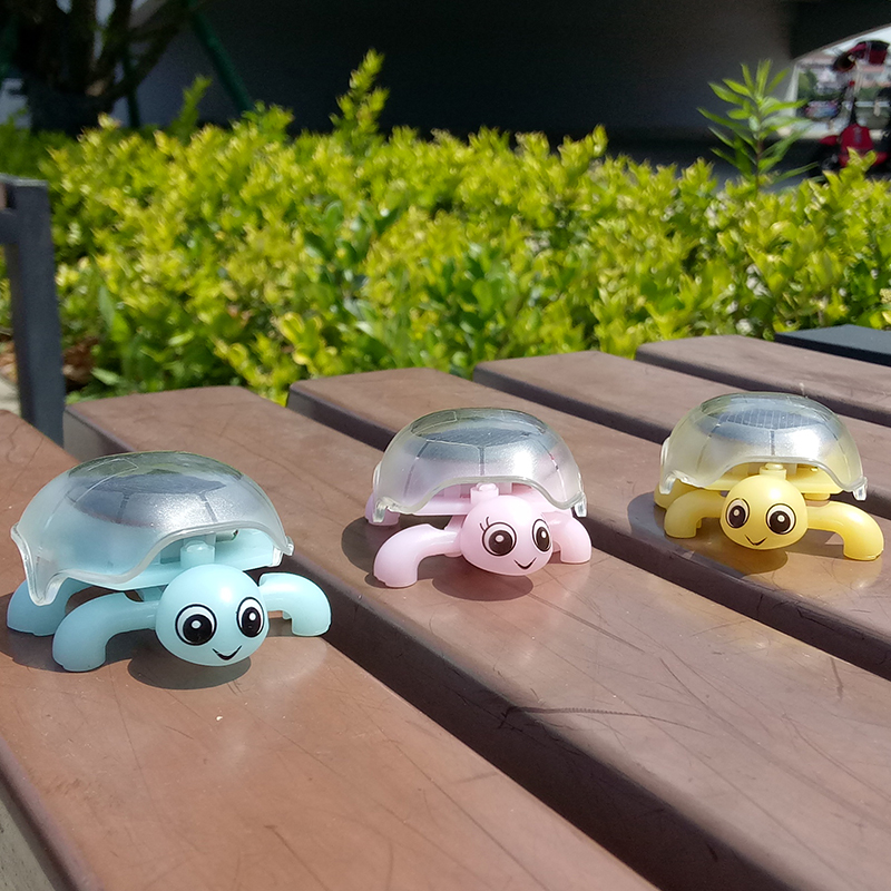 Hot Sale Novelty Fun Animal Toys Solar Mini Creeper Turtle Children Early Education Toys Gifts For Children