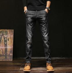 Весна 2020, Новое поступление, высококачественные Стрейчевые джинсы, Мужские штаны