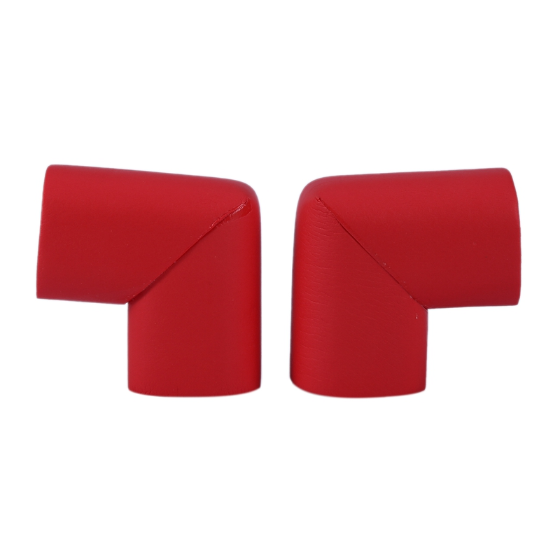 Table Top Corner Mat Cover Safety Protector Cover Protector Cushion Red 2 Pieces