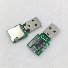 Устройство для чтения карт памяти Anguo AU6438BS, устройство для ремонта компьютеров и разблокировки, проводка, продажа и изготовление