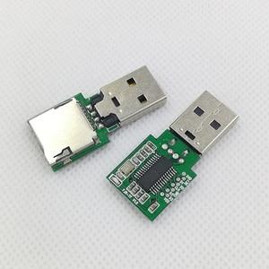 Image 1 - Self produced and sold Anguo AU6438BS memory card reader PCBA repair mobile phone brush unlock tool wiring