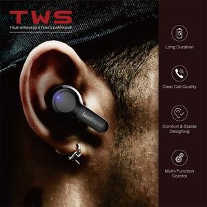 Image 3 - Lewinner TS04 TWS True Wireless Earphones with 2 Microphones, CVC 8.0 Noise Reduction, 40H Playtime, IPX7 Waterproof headset