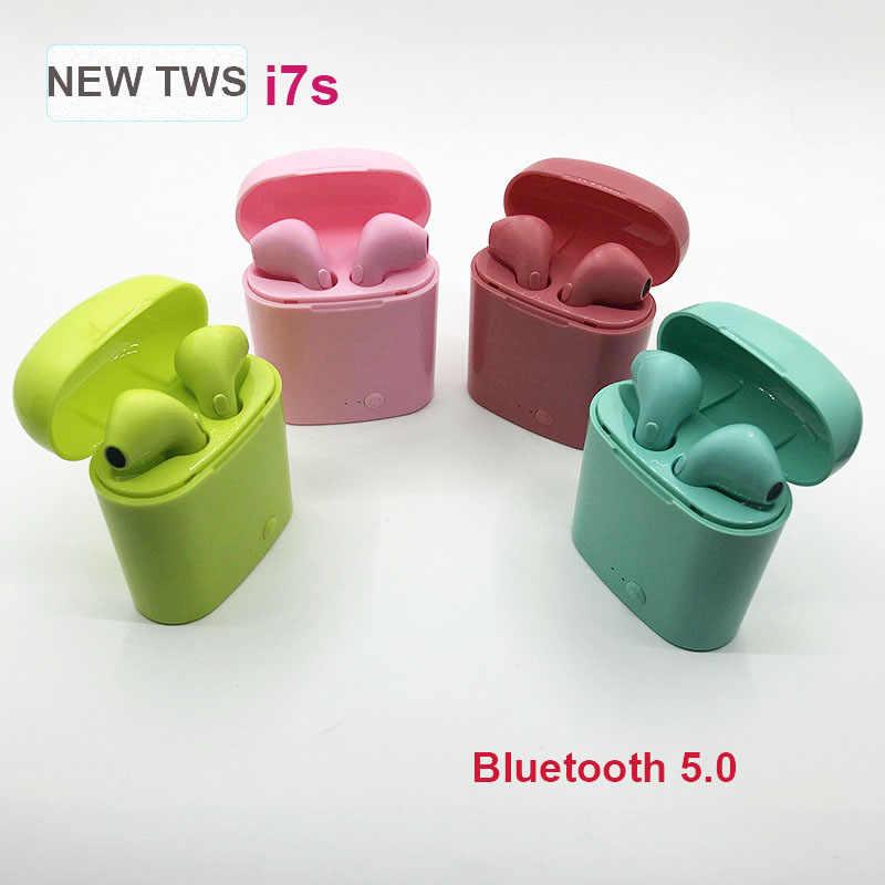 I7s Tws VS i11 i12 i14 i20 tws ワイヤレス Bluetooth イヤホンワイヤレスヘッドセットヘッドホンインナーイヤー IPhone Xiaomi イヤ