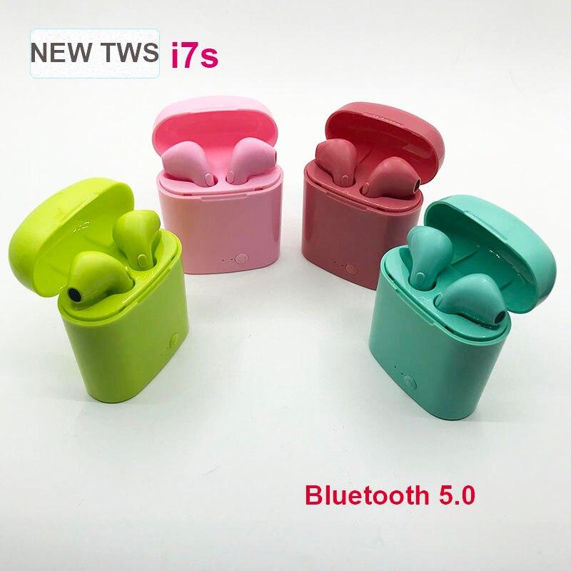 I7s Tws VS I11 I12 I14 I20 Tws Wireless Bluetooth Earphone Wireless Headset Headphone Earbuds For IPhone Xiaomi Huawei Earphone