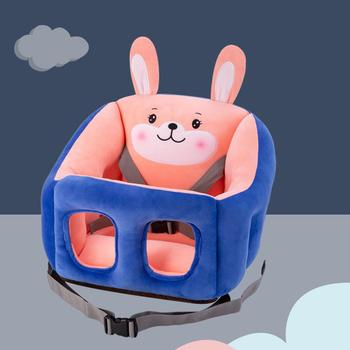 Baby Seat Cartoon Portable Baby Dining Chair Multifunctional Stroller Can Be Fixed Stool Learn To Sit On Sofa Car Booster Seat high landscape baby stroller can sit reclining folding light two way four wheel shock absorber baby stroller