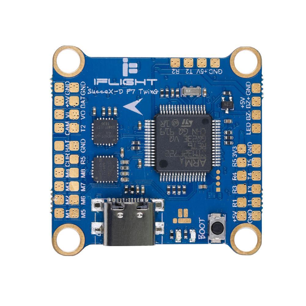 IFlight SucceX-D F7 TwinG Flight Controller (HD Version) With USB Type-C Compatible DJI Air Unit For DJI Digital HD FPV System