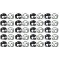 20 Sets Vergaser Membran Dichtung Kits für Briggs und Stratton 495770 795083 5083H 5083K 7721 520175-in Möbel-Pads aus Heimwerkerbedarf bei