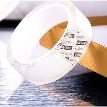 Ruban adhésif Transparent Double Face, 1/2/3/5 M, Nano autocollants réutilisables en acrylique, Scotch étanche, Gadgets nettoyables, plâtre
