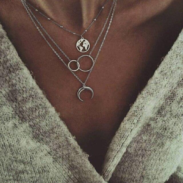Boho Necklaces Pendants...