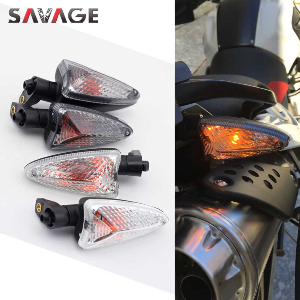 Front//Rear Turn Signal Indicator Lights For Triumph Daytona 675//R Tiger 800//1050