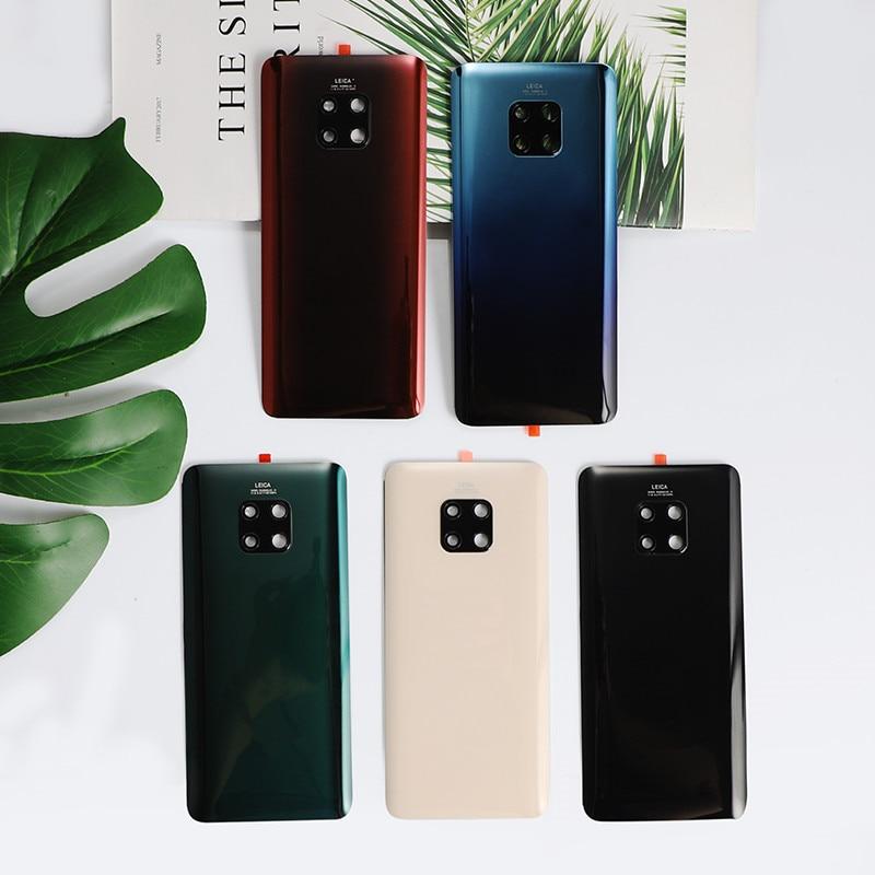 Mate20 Pro 100% Original Housing For Huawei Mate 20 Pro Glass Battery Cover Repair Replacement Back Door Phone Rear Case + Logo