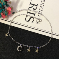 S925 sterling silver bracelet star tassel jewelry gift for women