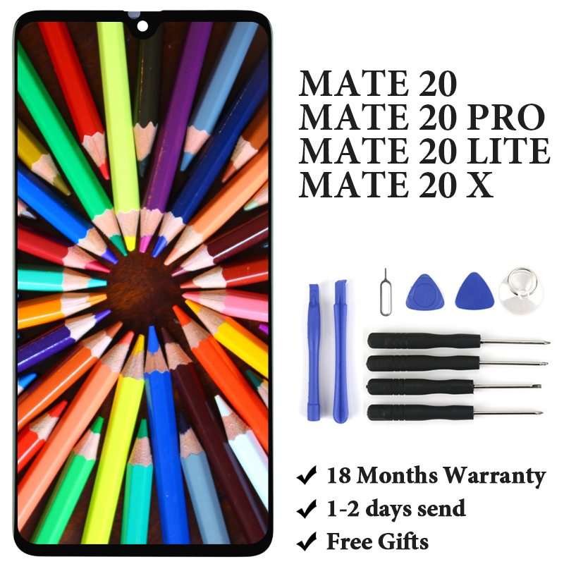 TIMEWAY Für Taube 20 Mate 20 lite Mate 20 Pro (ohne fingerprint) mate 20 X LCD Display Touch Screen display