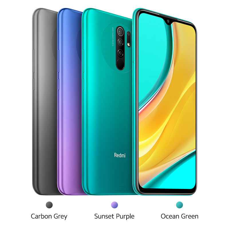 Xiaomi Redmi 9 Smartphone 3GB 32GB GSM/LTE/WCDMA Quick Charge 3.0 Octa Core Face Recognition/fingerprint Recognition