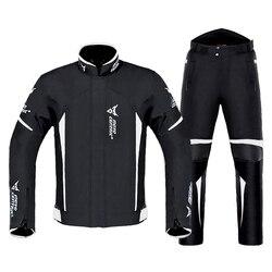 Motocentric Motorjas + Broek Pak Waterdicht Coldproof Moto Jacket Riding Motorbike Jas Mannen Motorfiets Bescherming #