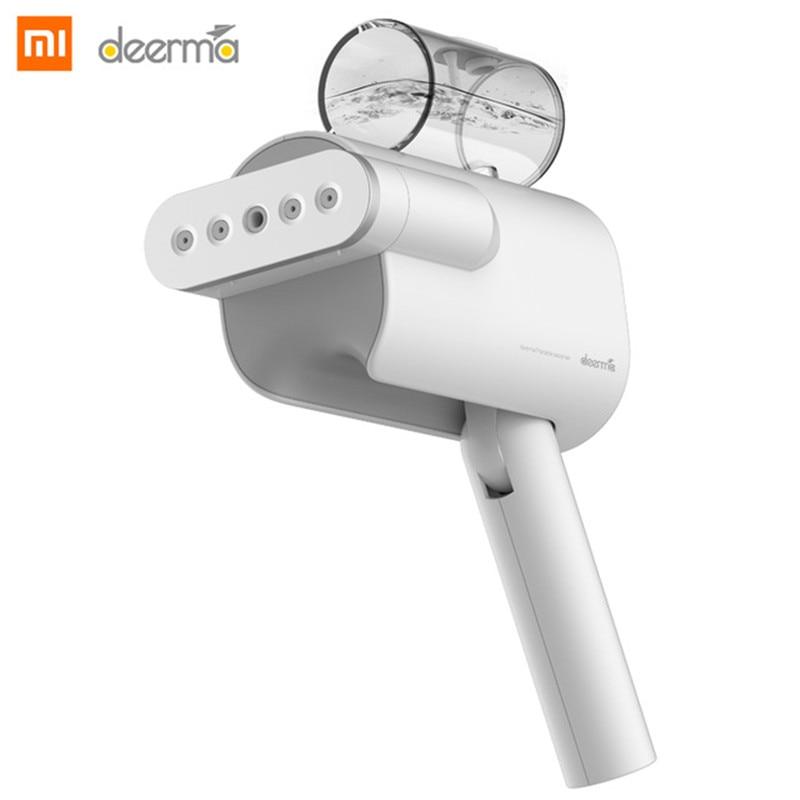 New 2019 Xiaomi Deerma Handheld Garment Steamer 220V Foldable Electric Steam Iron Clothes Wrinkle Sterilization DEM-HS006
