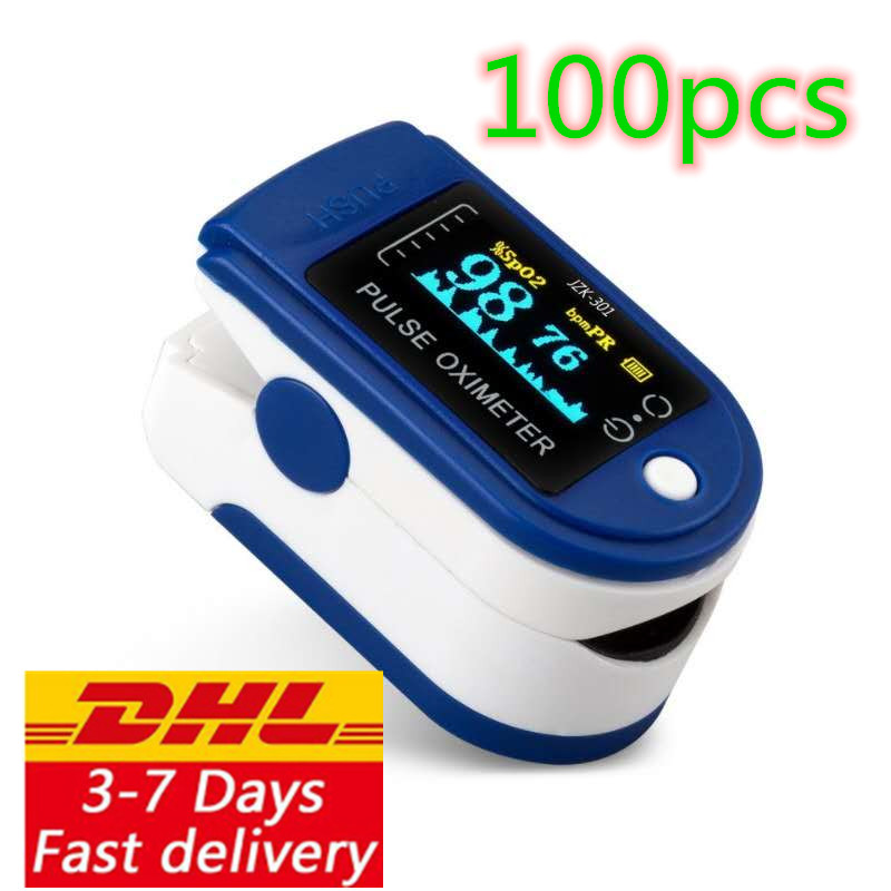 Free delivery of 10 / 20 / 50 / 100 DHL pulse oximeter monitors LK-88