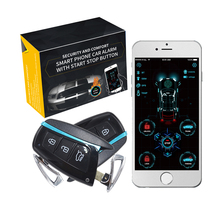 Alarm-System Cardot Engine Entry-Car Remote-Start Smart Keyless Russian GPS GSM 4g Passive
