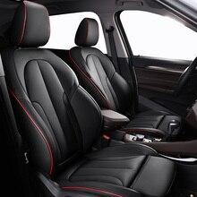 หนังที่กำหนดเองรถสำหรับAudi A6L Q3 Q5 Q7 S4 A5 A1 A2 A3 A4 B6 B8 B7 a6 C5รถยนต์อุปกรณ์เสริม