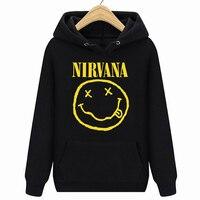 Short Sleeve Hoodies Sweatshirts, Nirvana ,Size 2X LARGE, Hoodies Sweatshirts, Music, Face