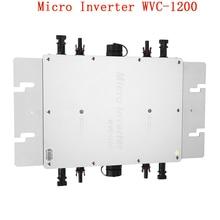 Drahtlose Solar Inverter MPPT Inverter 110V 1200W Micro Grid Inverter Linie Filter Qual Frequenz Wasserdicht
