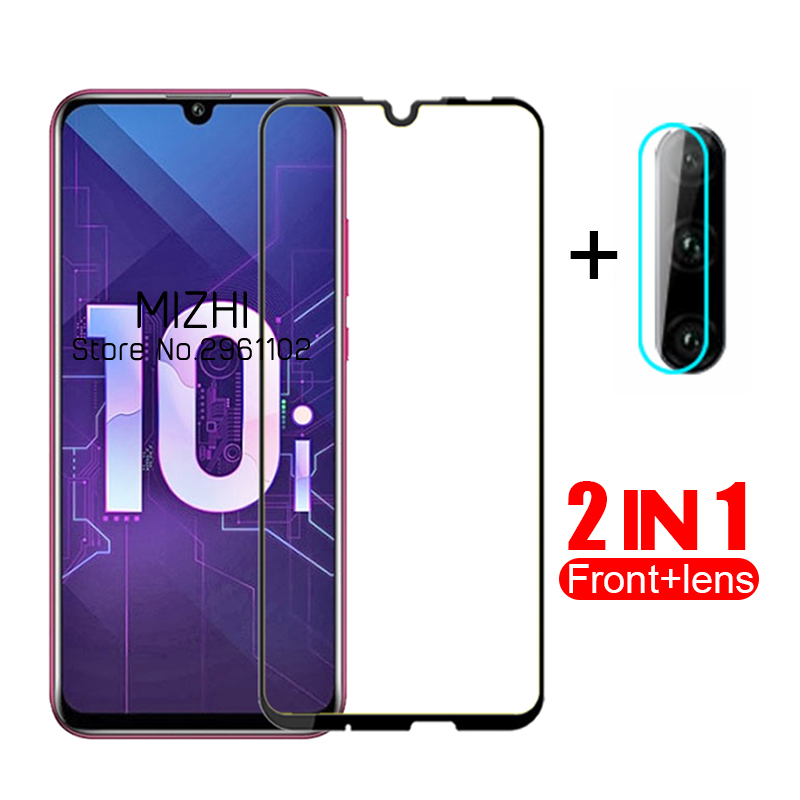 2 In 1 Protective Glass For Huawei Honor 10i Camera Lens Glass On For Huwei Honor 10i 10 I I10 Honor10i HRY-LX1T Back Cover Glas