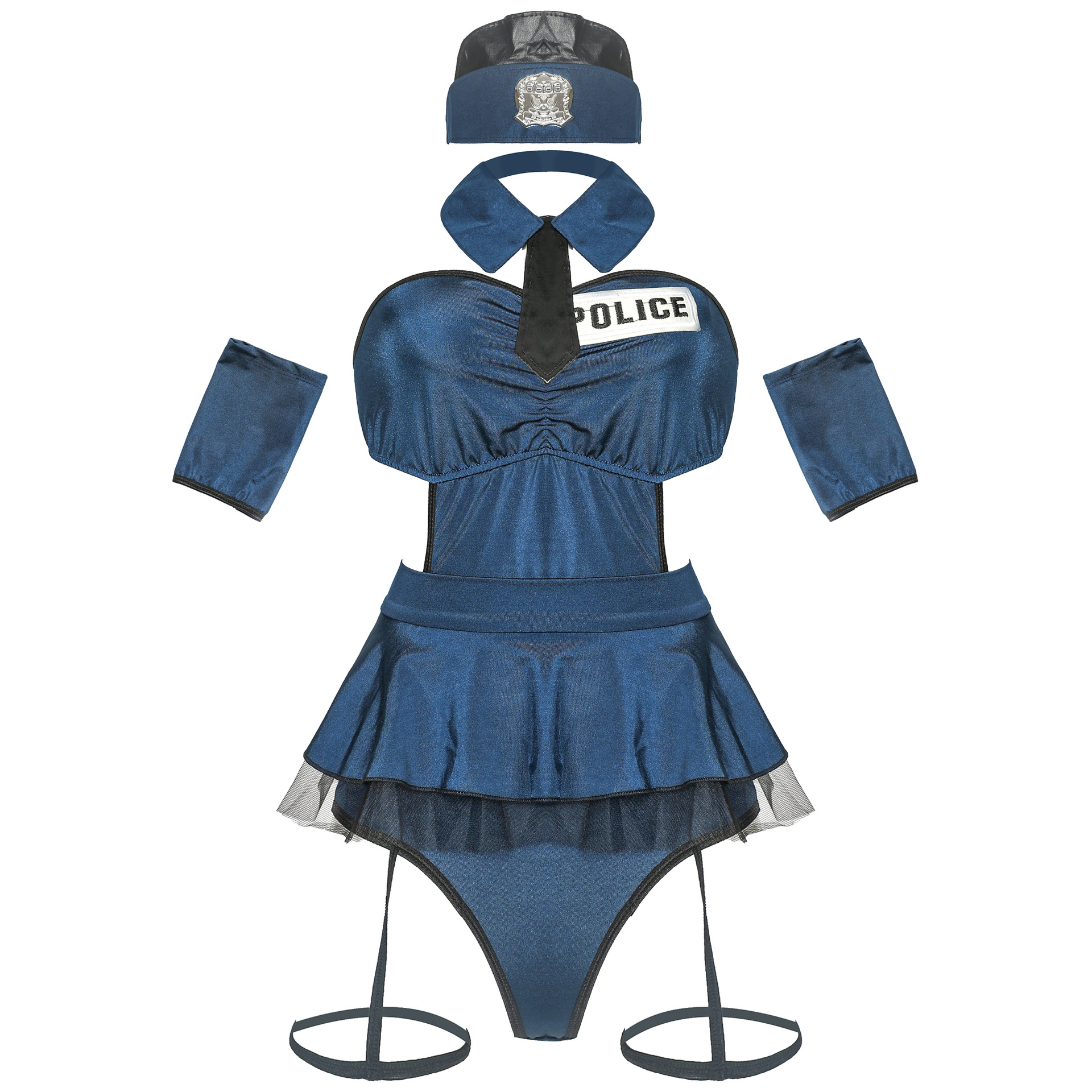 New Woman Police Costume Sexy Policewoman Uniform Cosplay Sexy Erotic Lingerie Police Costumes For Women Sexy Underwear